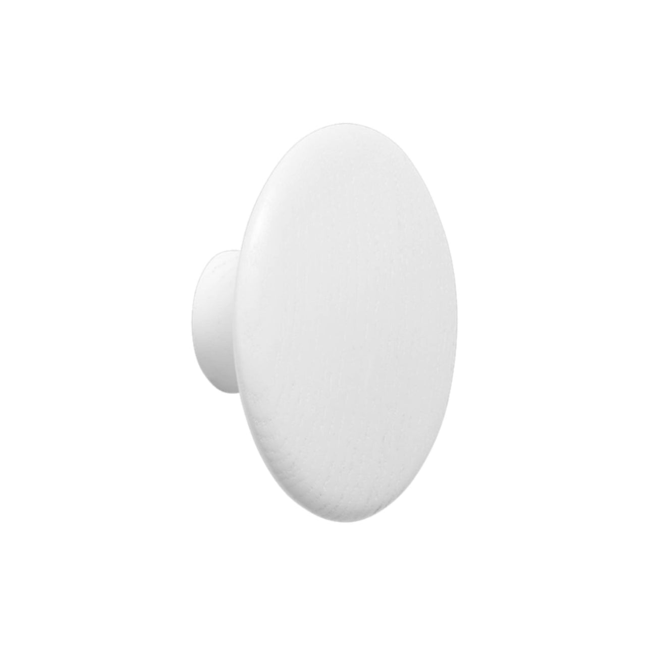 The Dots Wall Hooks: White + Large