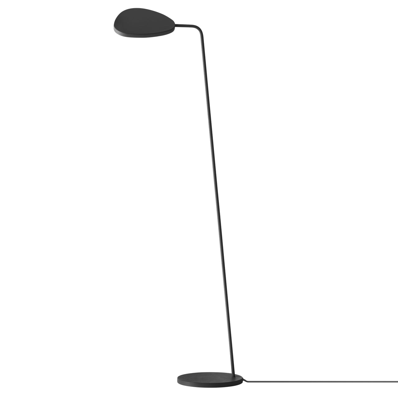 Leaf Floor Lamp: Black