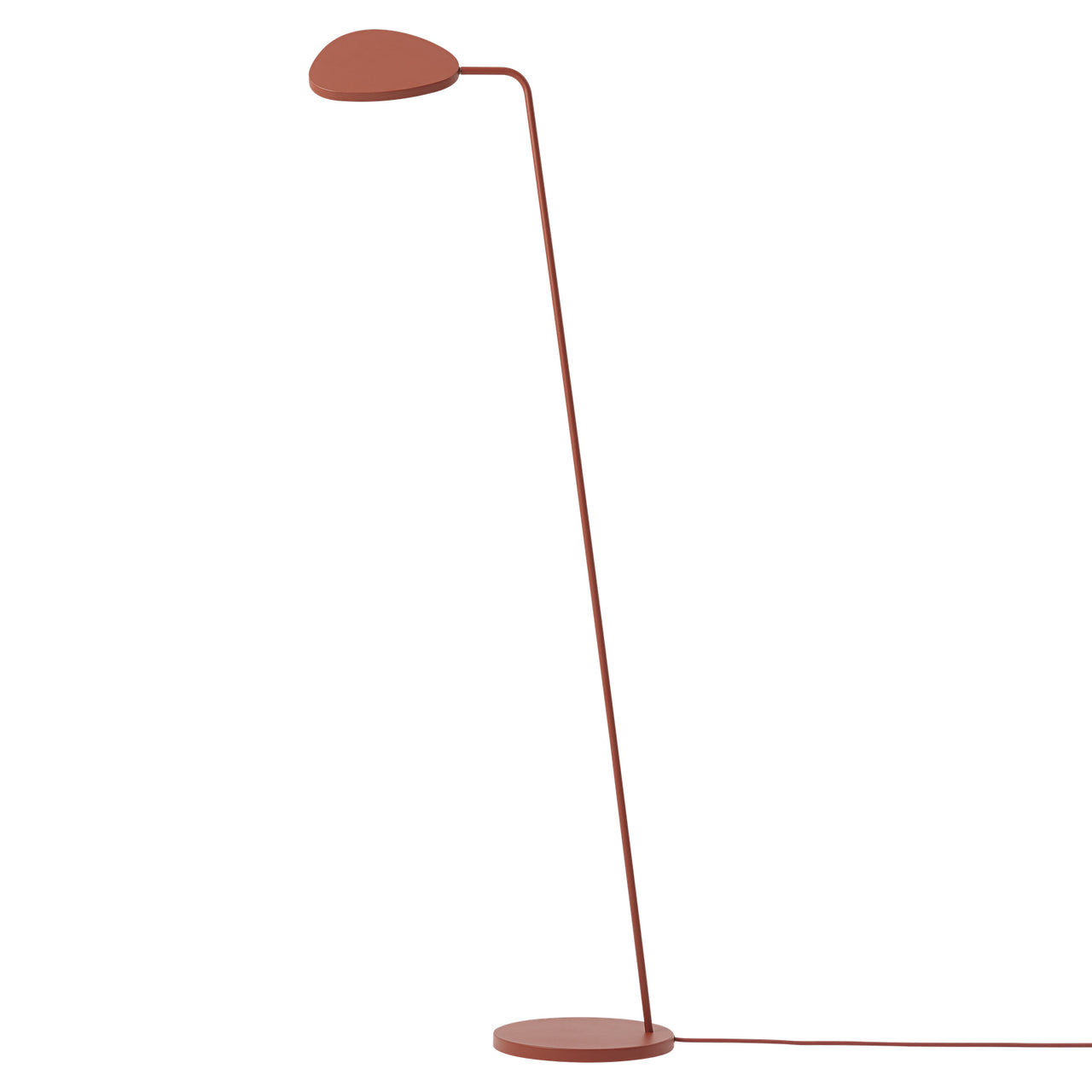 Leaf Floor Lamp: Copper+Brown