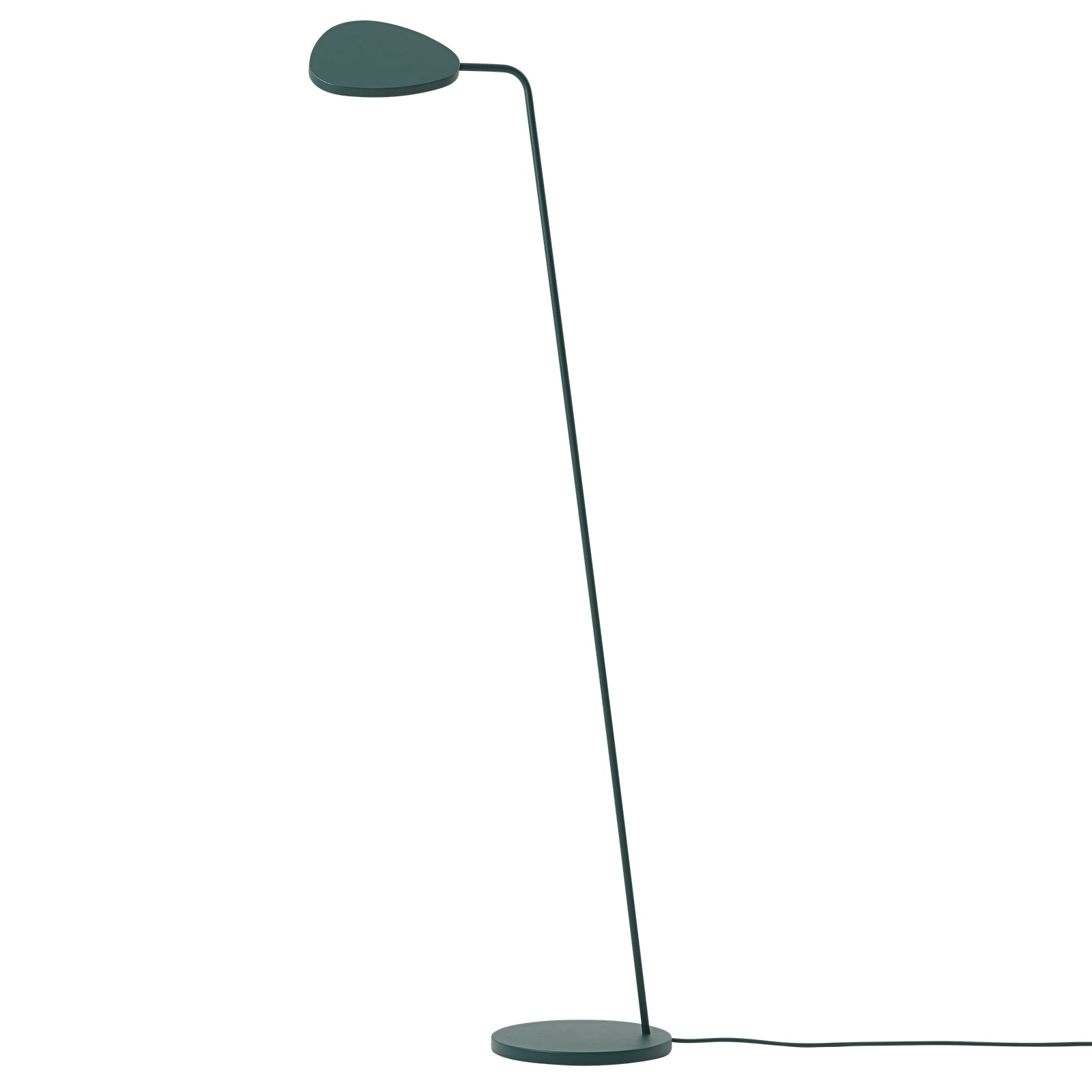 Leaf Floor Lamp: Dark+Green