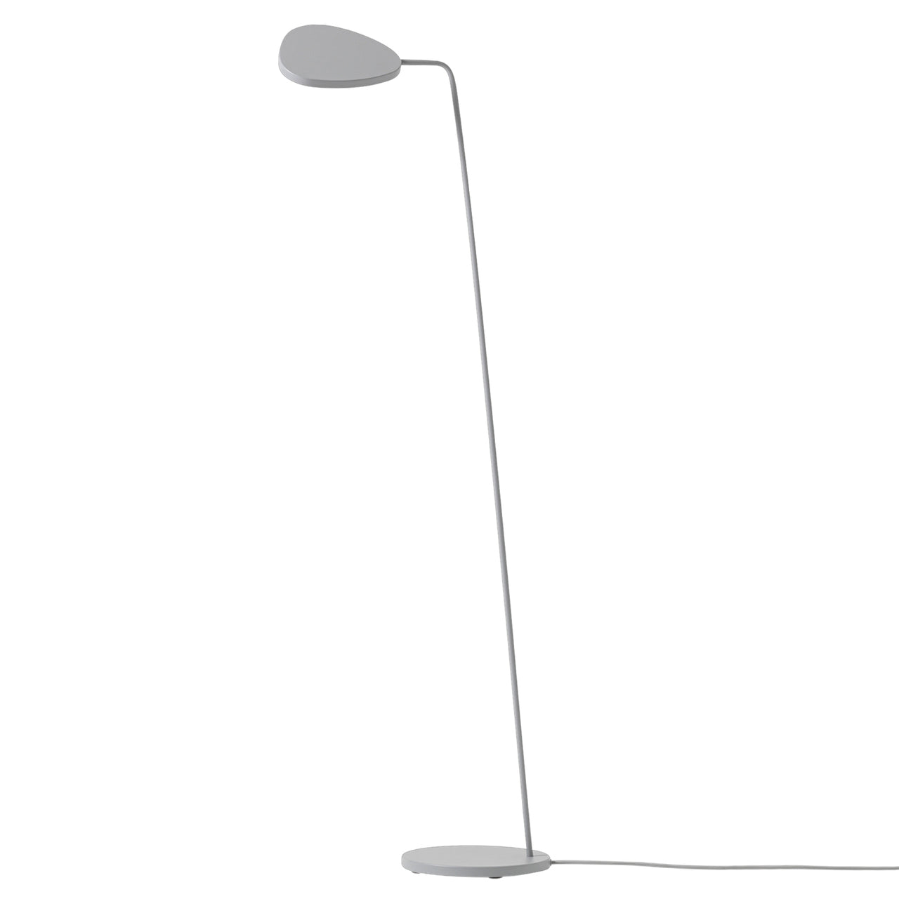 Leaf Floor Lamp: Grey
