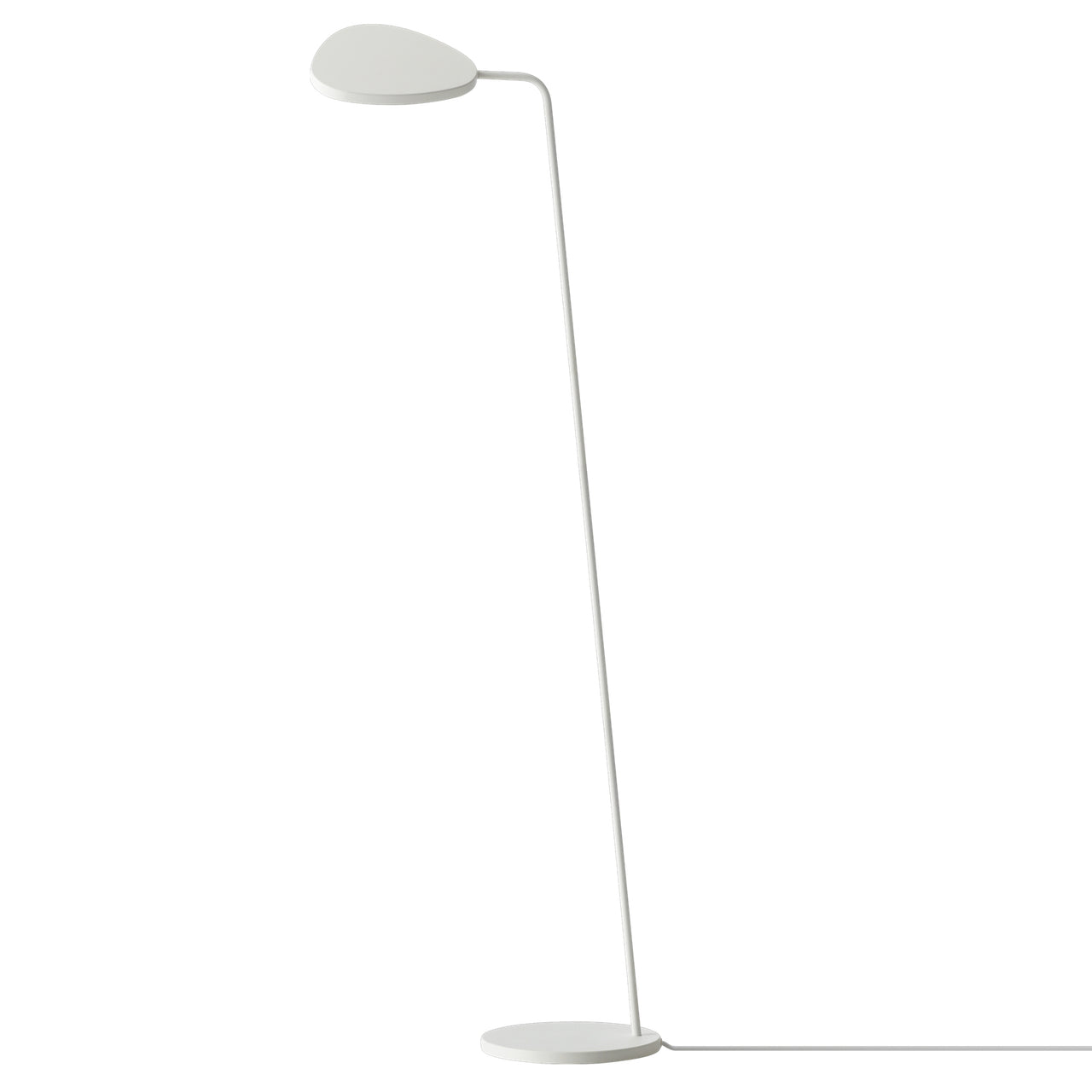 Leaf Floor Lamp: White