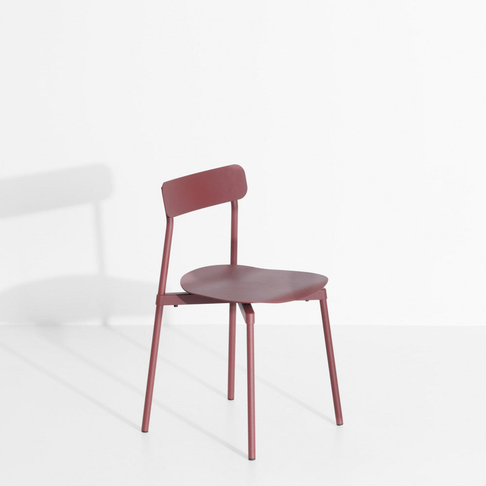 Fromme Chair: Brown Red