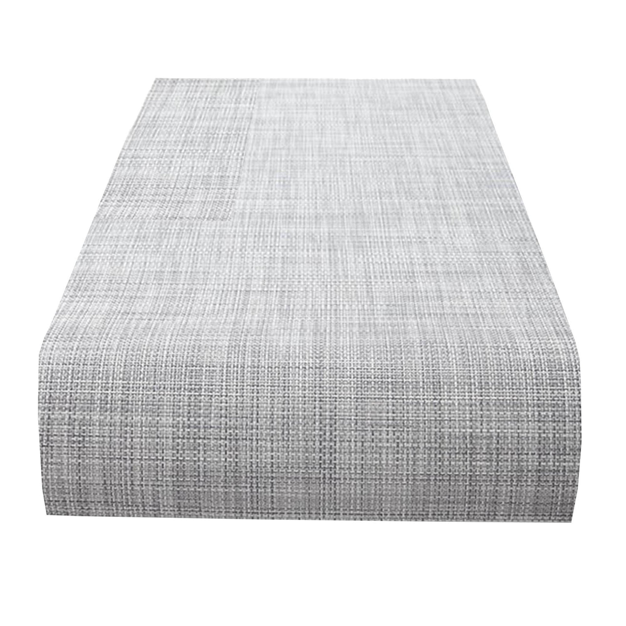 Mini Basketweave Table Runner: Mist