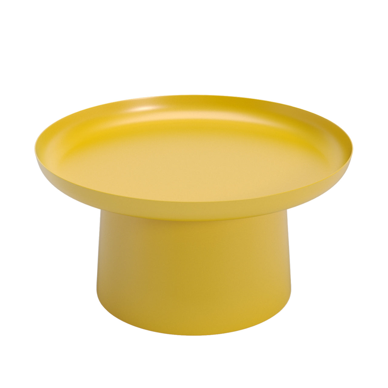 Musette Coffee + Side Table: Coffee Table + Golden Yellow