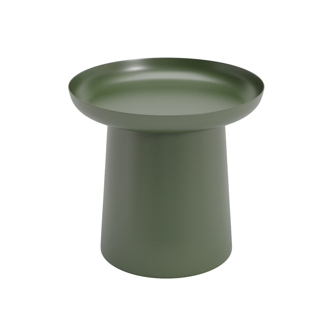 Musette Coffee + Side Table: Side Table + Olive Green
