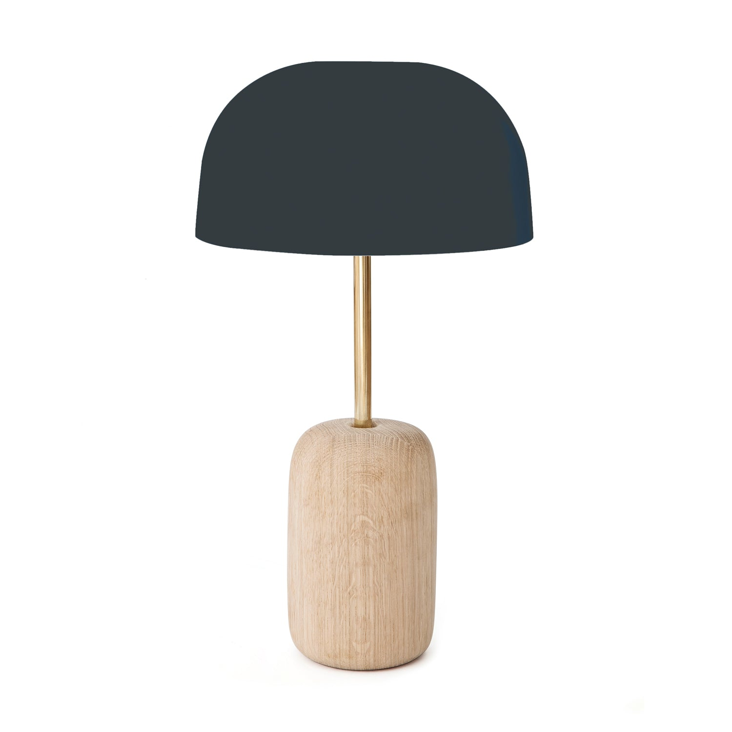Nina Table Lamp: Slate Grey