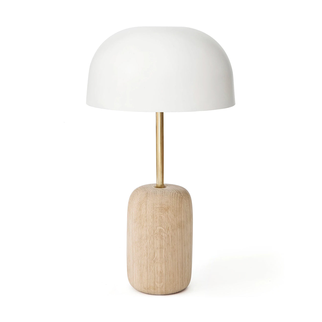 Nina Table Lamp: White