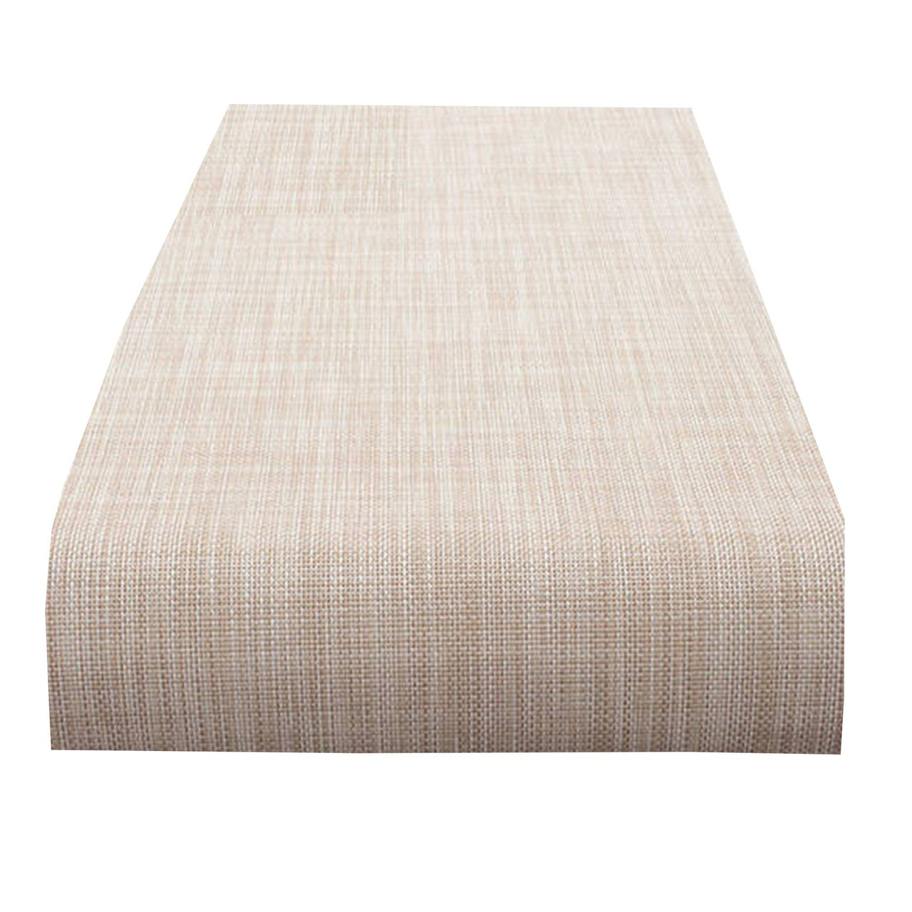 Mini Basketweave Table Runner: Parchment