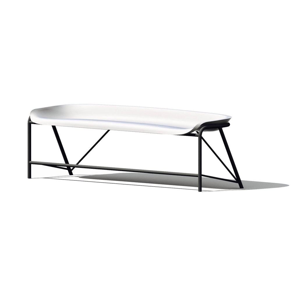 Pylos Bench with Adjustable Heating