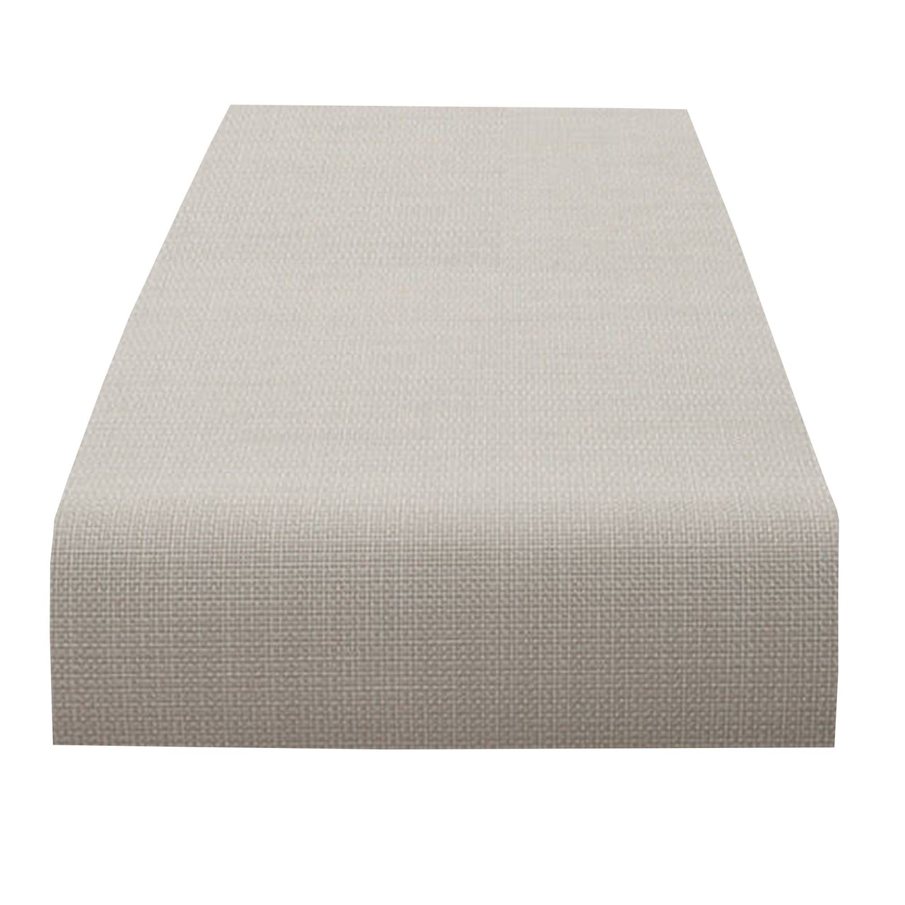 Mini Basketweave Table Runner: Sandstone