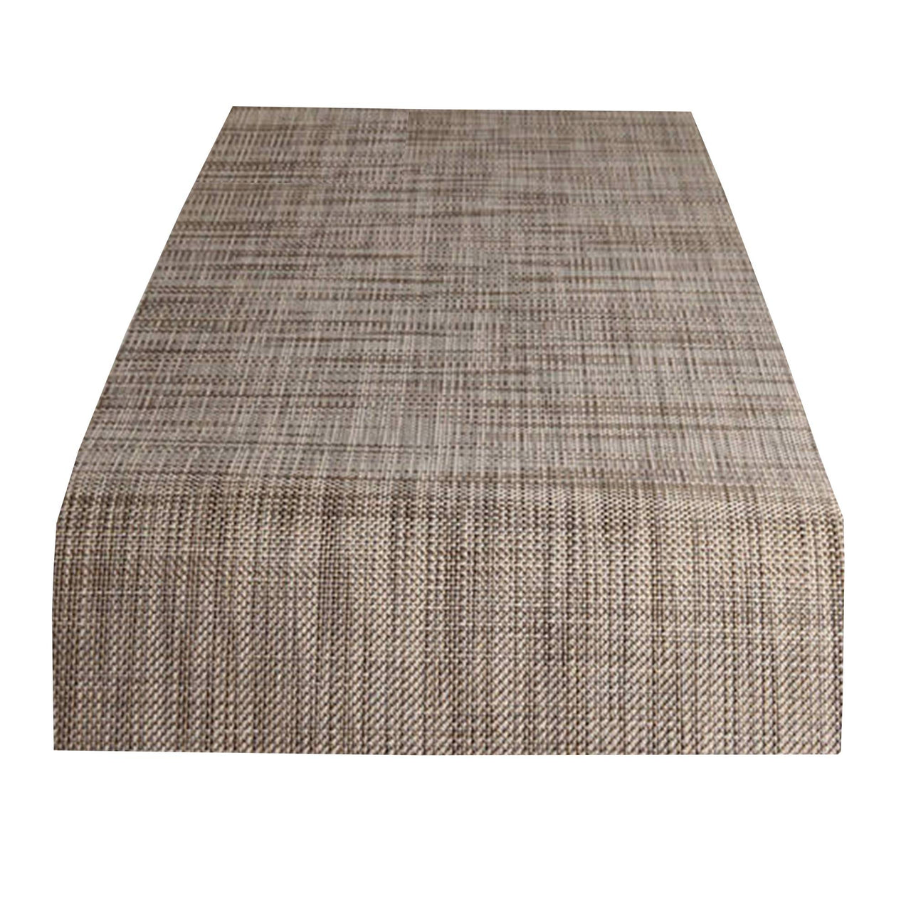 Mini Basketweave Table Runner: Soapstone