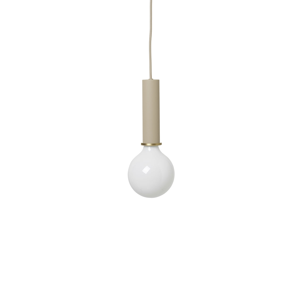 Collect Lighting: Pendant + High + Cashmere