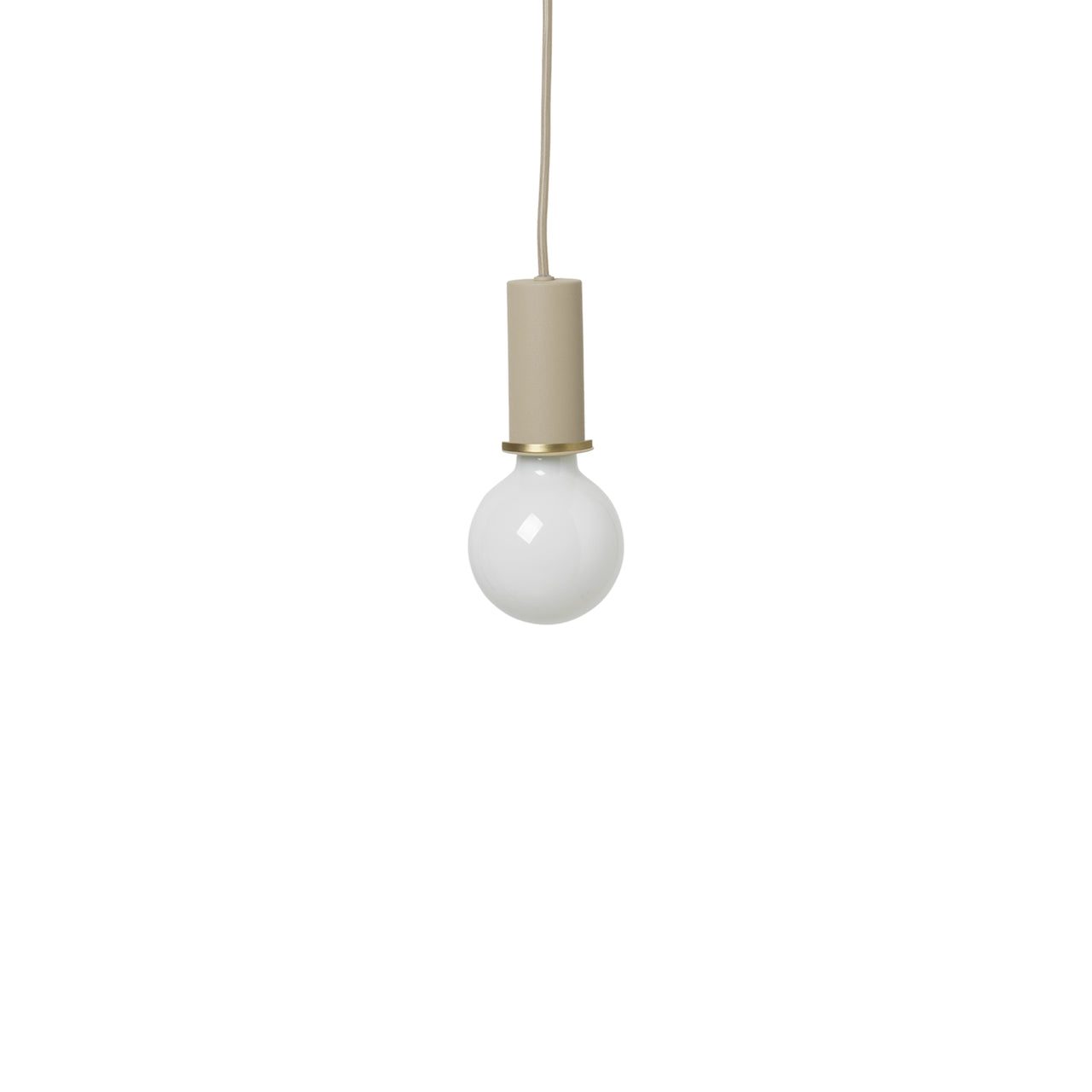 Collect Lighting: Pendant + Low + Cashmere
