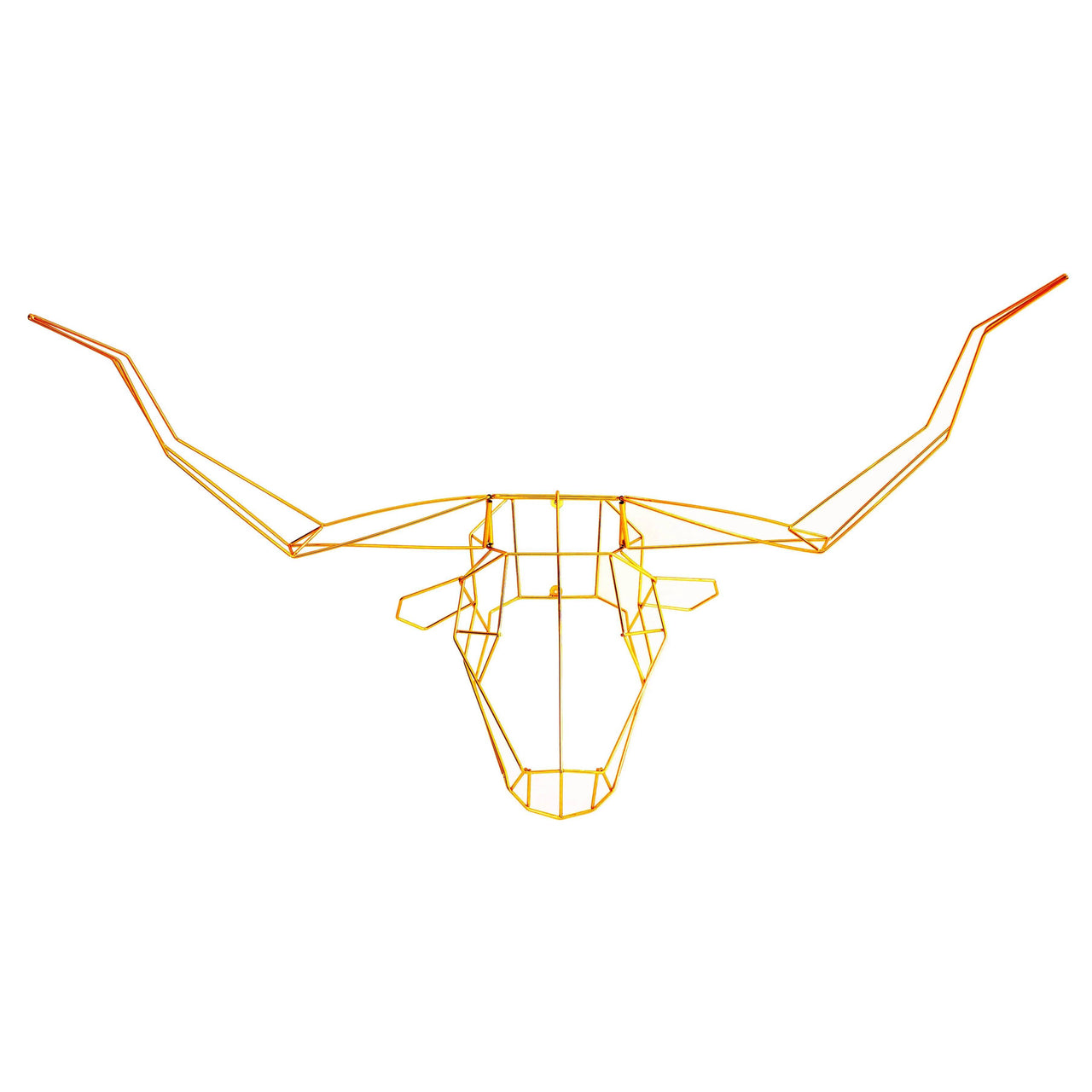 Trophy Heads: Gold or Copper: Longhorn + Gold