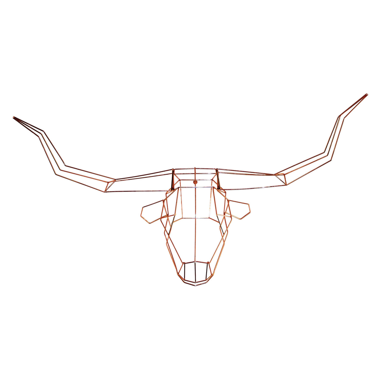 Trophy Heads: Gold or Copper: Longhorn + Copper
