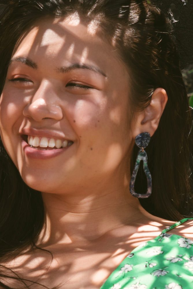 Roques Acetate Drop Earrings