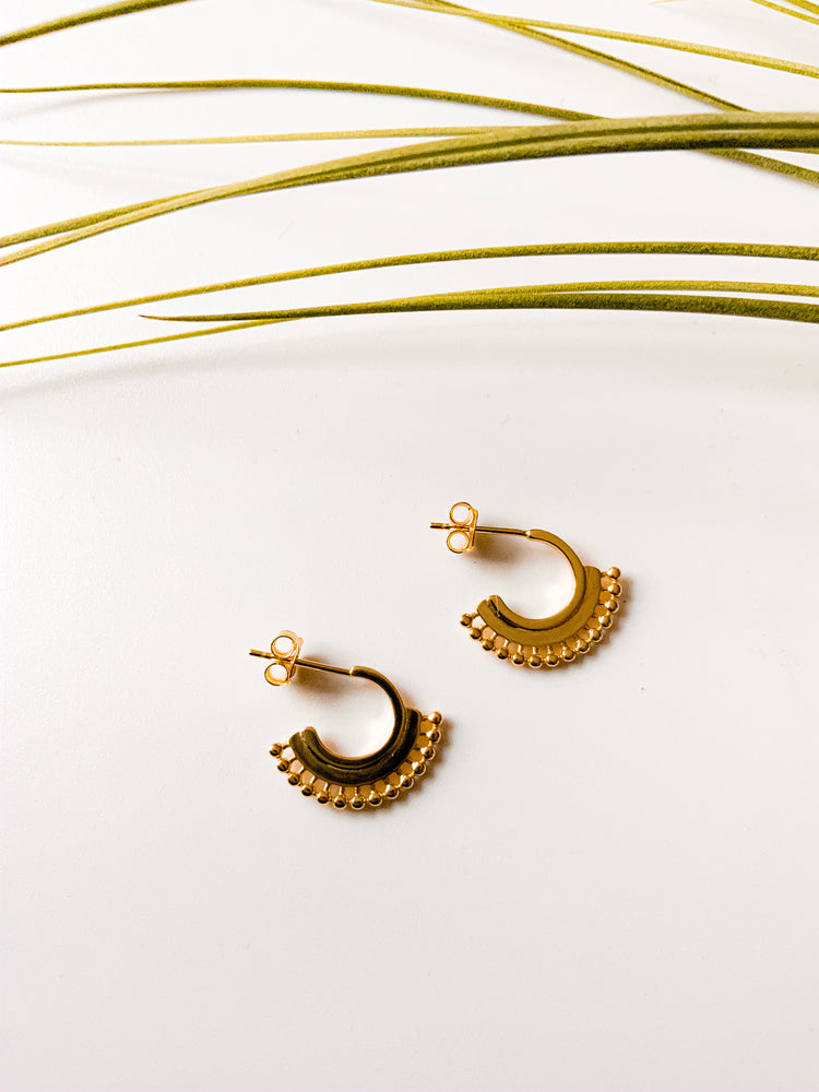 d'Orsay Hoop Earrings
