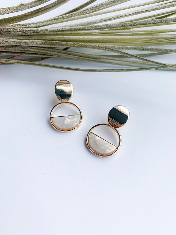 Aveiro mini drop earrings