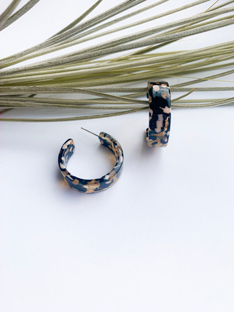 Venice mini resin hoops