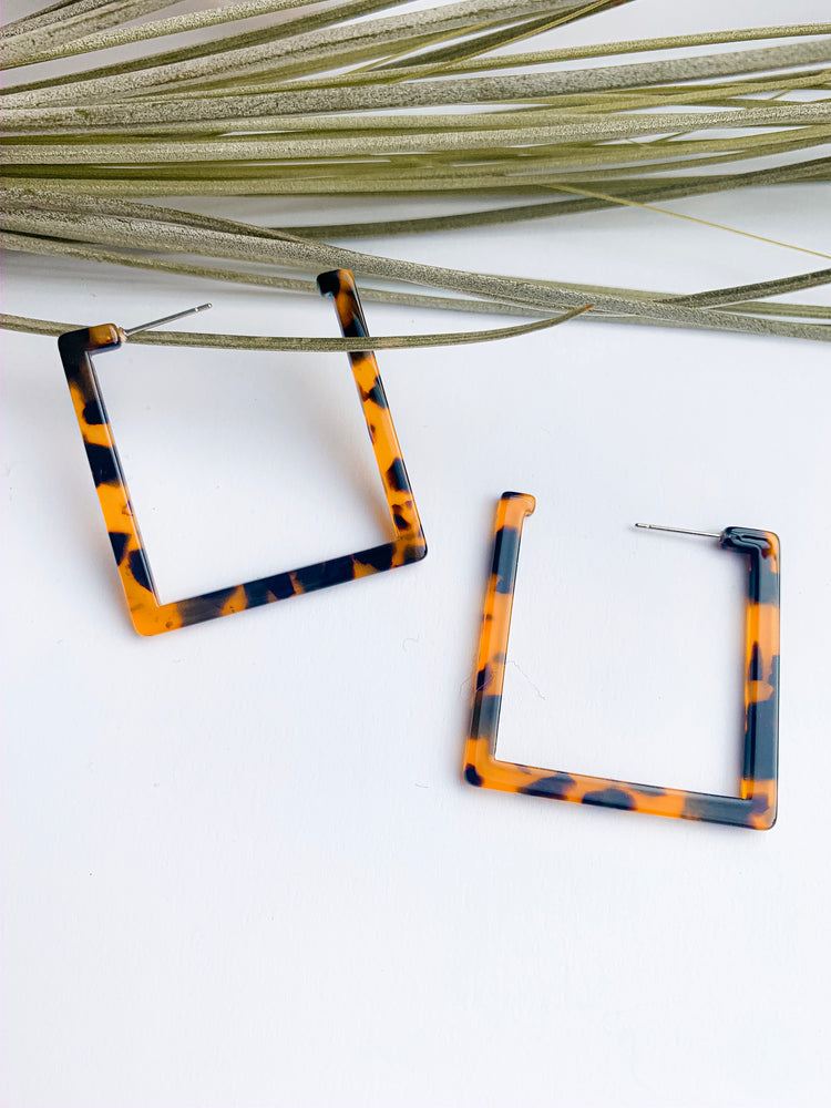Tepuy square resin hoops