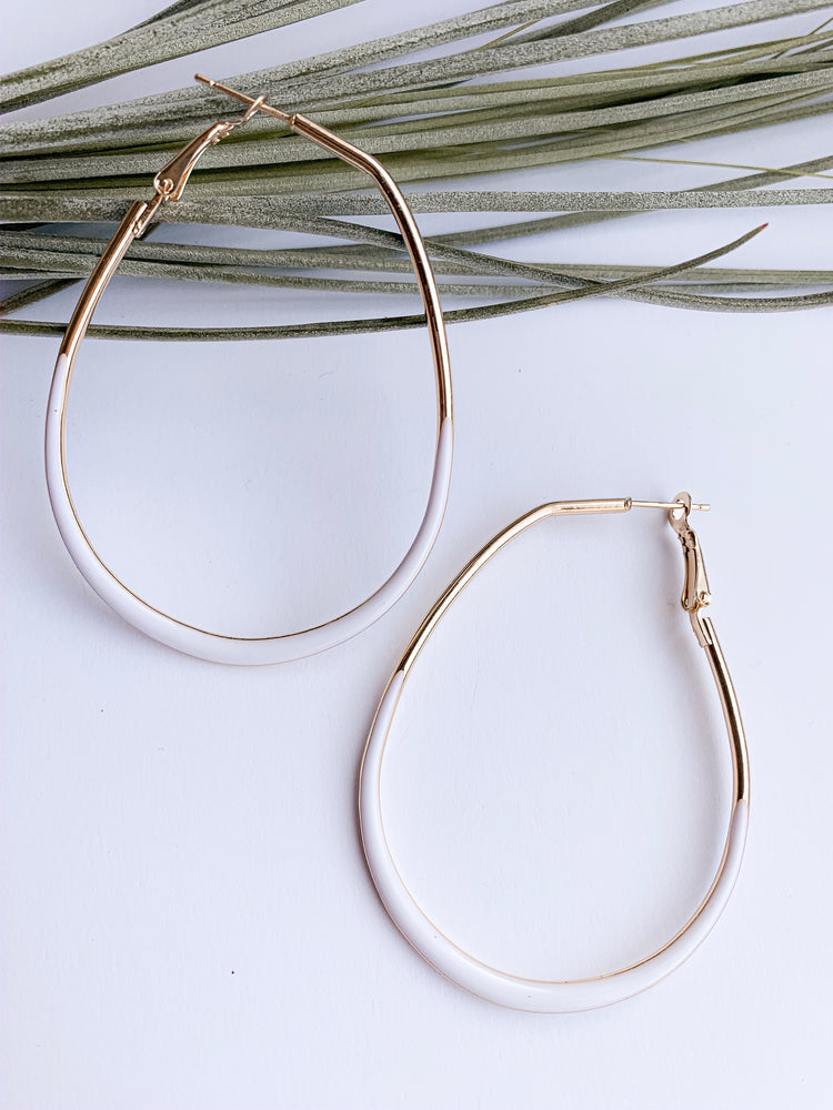 Positano hoop earrings