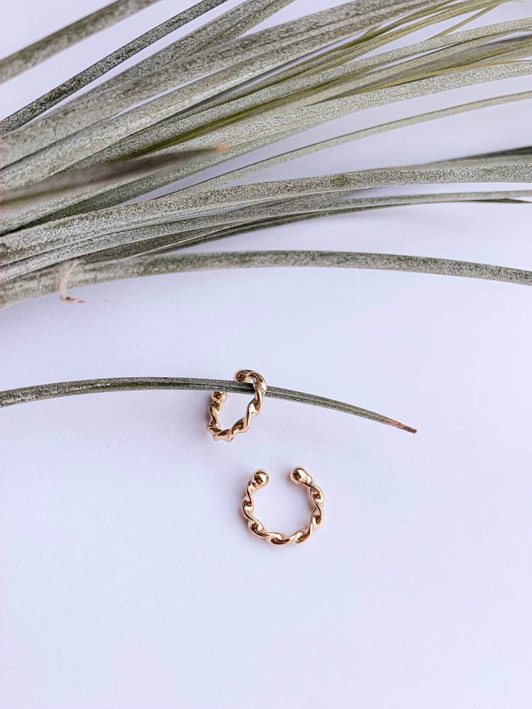 Samantha ear cuffs. SET OF 2