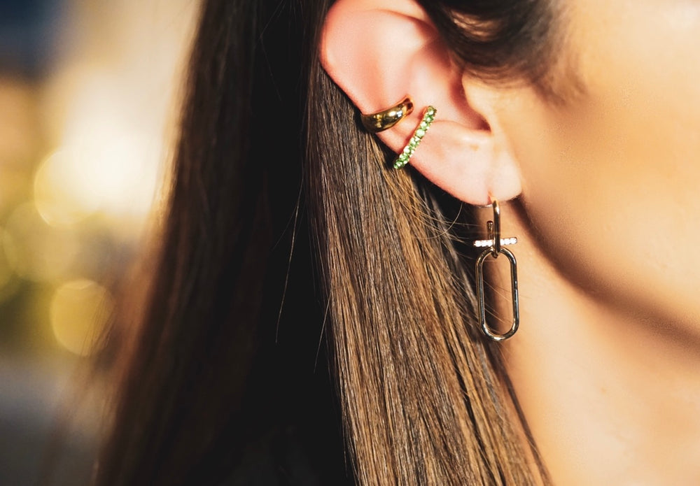 Brittany mini drop earrings