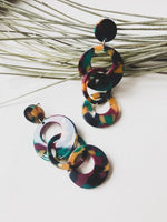 Cordoba Resin Drop Earrings