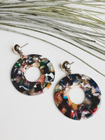Tulip Resin Drop Earrings