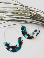 Maple Resin Drop Earrings