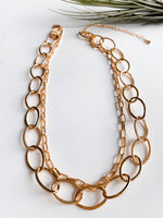 Bilbao Double Chain Necklace