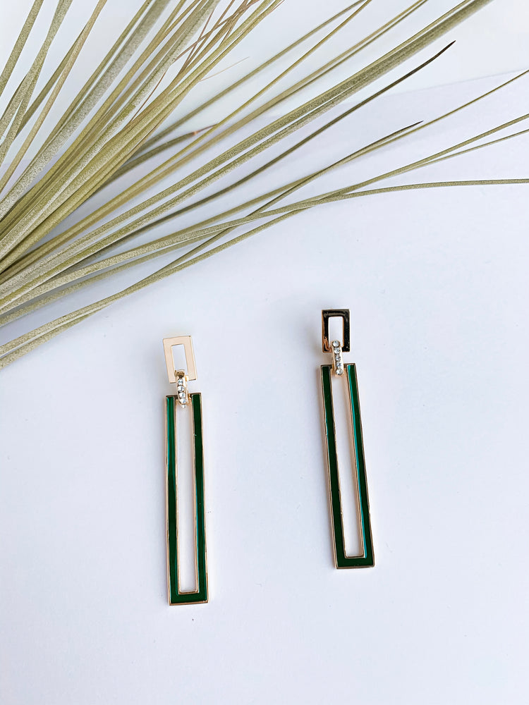 Berlin Drop Bar Earrings. More Colors