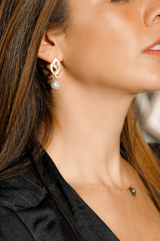 Bruges Pearl Drop Earrings