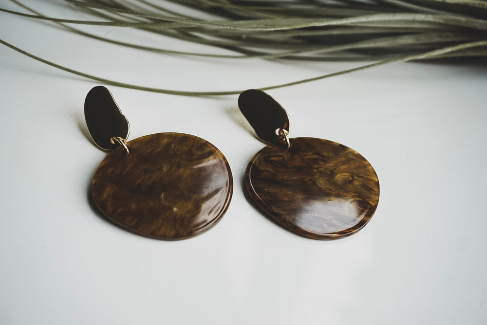 Toronto Resin earrings