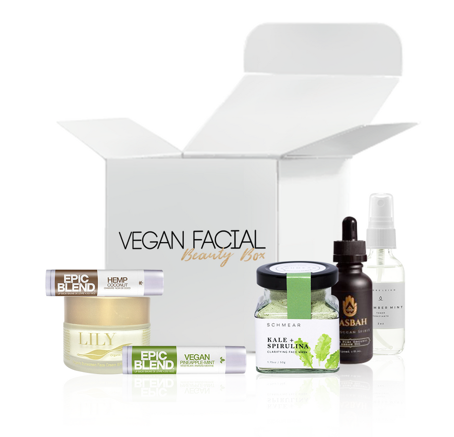 WOW! Vegan Facial Beauty Box