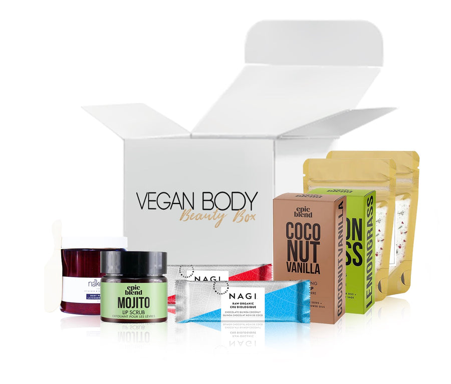 AMAZING! Vegan Body Beauty Box