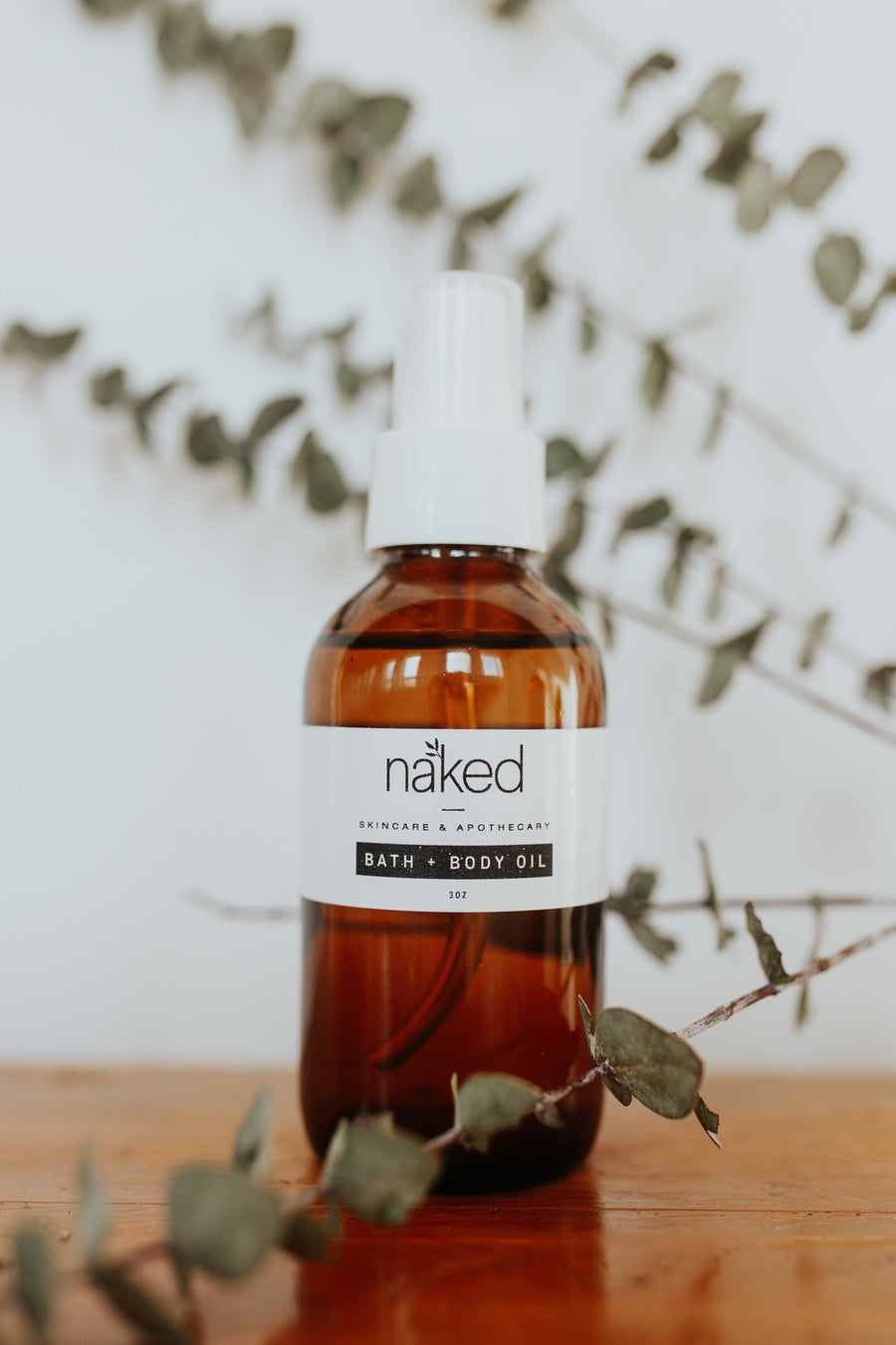 Bath and Body Oil Spray - Naked Skincare