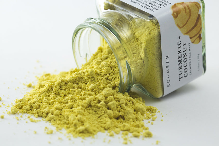 100% Natural Food Based - Turmeric + Coconut Calming Face Mask