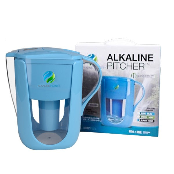 Alkaline Water Pitcher - Blue