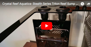 Stealth Series Triton Reef Sump TRS30 - Crystal Reef Aquatics - Video