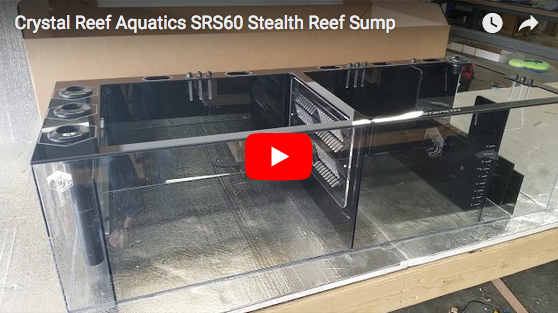 Crystal Reef Aquatics TRS60 Stealth Reef Sump