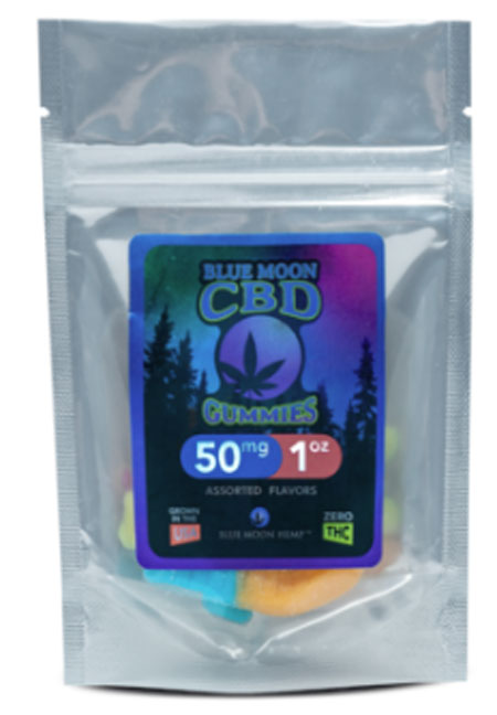 CBD Melatonin Gummies – 1oz  50mg Non-THC