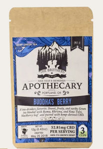 CBD Infused Buddha's Berry CBD Green Tea – The Art of Zen in Every Cup