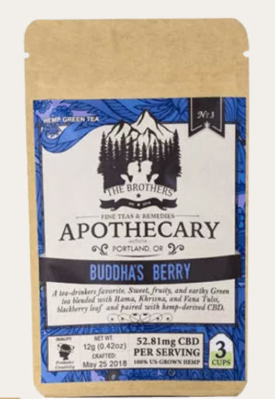 Buddha's Berry CBD Green Tea – The Art of Zen in Every Cup