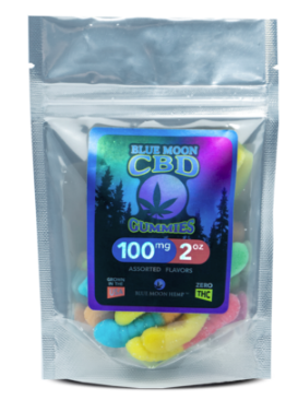 CBD Melatonin Gummies – 2oz 100mg Non-THC