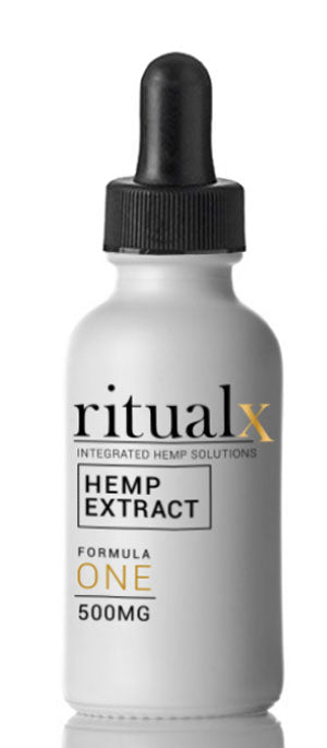 Ritual Natural Flavor CBD Oil 500 Mg Non-GMO Full Spectrum Oil