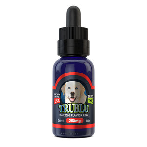 Blue Moon Bacon CBD Dog Tincture 250mg  Organic Cold Pressed