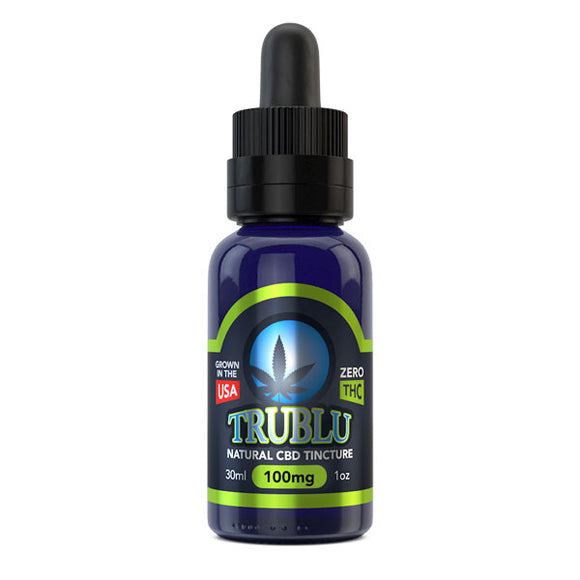 Blue Moon Natural CBD Tincture 125mg Organic Cold Pressed THC Free