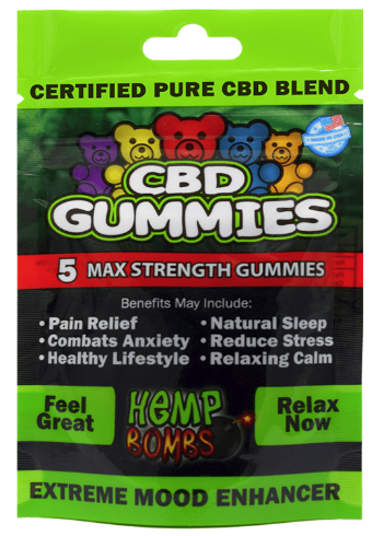 Pure CBD Gummies 75mg of CBD total Non-THC